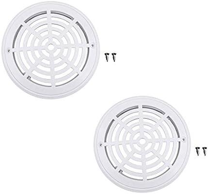 Amazon.com: YiMusic 2 piezas de plástico blanco piscina ...