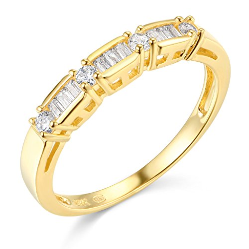 14k Yellow Gold SOLID Wedding Band - Size 8.5 by TWJC
