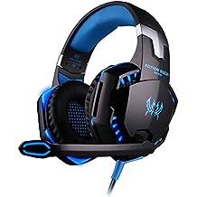 Headset Gamer Kotion Each G2000 Azul Led (Pronta Entrega)