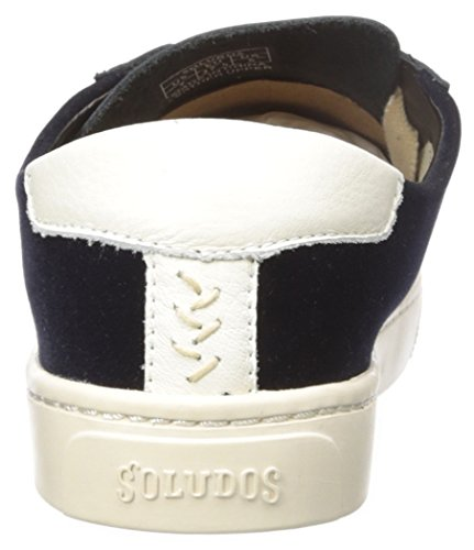 Classic Black Sneaker Women's Soludos Ibiza Navy Lace up zwZAFq1x