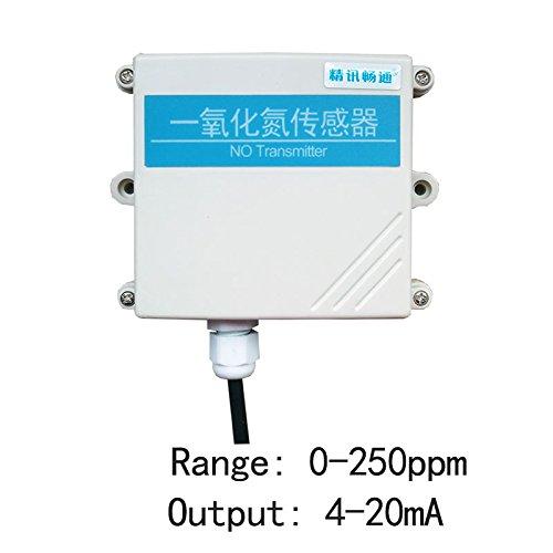Jingxunchangtong Nitric oxide Transmitter High Accuracy Probe NO Sensor 4-20mA Output High Precision Transmitter Measuring Range in PPM - Nitric Oxide Sensor