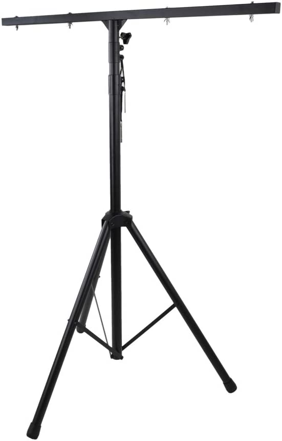 American DJ 9 Ft Lighting Tripod T-Bar Light Stand Cross Bar Black