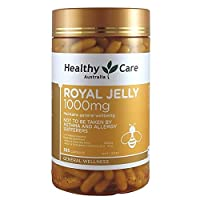 Healthy Care Royal Jelly 1000 365 Capsules Supplements Made in Australia