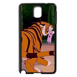 Disney Aladdin Character Rajah funda Samsung Galaxy Note 3 caja funda del teléfono celular del teléfono celular negro cubierta de la caja funda EEECBCAAB16654