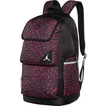 35a13f1f8567 Image Unavailable. Image not available for. Color  NIKE Gym Red Elephant Air  Jordan Jumpman All World Gym School Laptop Bag Backpack Books Sports