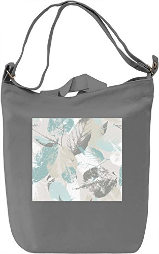 Green Leaf Texture Borsa Giornaliera Canvas Canvas Day Bag| 100% Premium Cotton Canvas| DTG Printing|