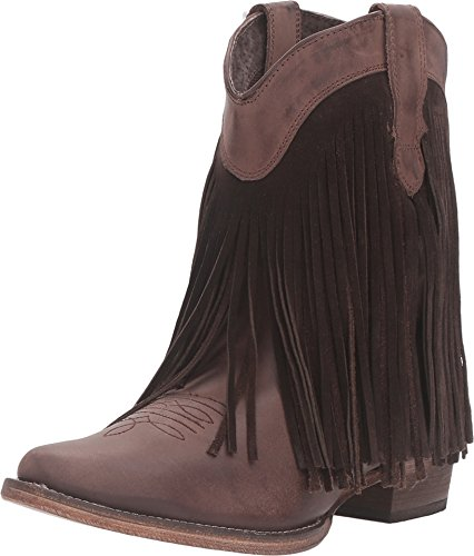 ROPER Dylan Womens Brown Leather Fashion Boots 5