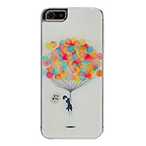 GHK - Full of Balloon Pattern Epoxy Hard Case for iPhone 5/5S