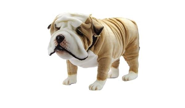 Amazon Com Handcrafted 30 Inch Life Size English Bulldog Stuffed