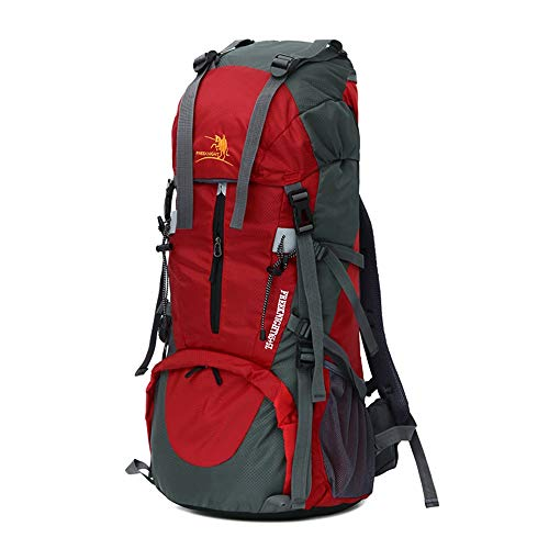 Capacity Climbing Backpack Nylon 5l Waterproof Grossartig 65 Large Red New qU6R7