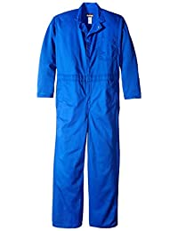 Bulwark Flame Resistant 9 oz Twill Cotton Classic Coverall with Hemmed Sleeves
