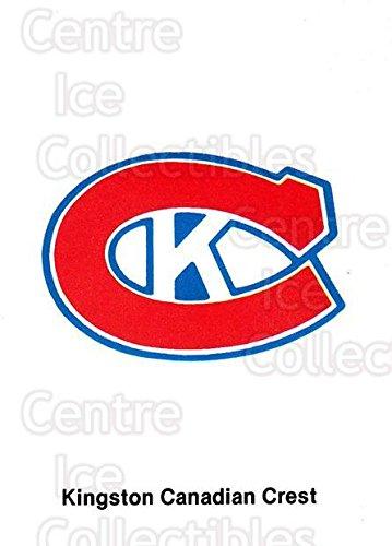 (CI) Checklist Hockey Card 1986-87 Kingston Canadians 1 - Shops List Kingston