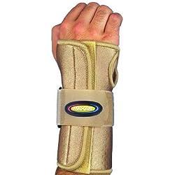 Maxar Airprene (Breathable Neoprene) Wrist Splint with Removable Palmar Stays