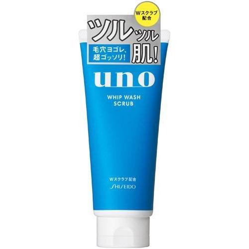 shiseido-uno-whip-wash-scrub-cleanser-130g