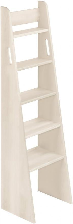 BioKinder 23805 Escalera de Mano Noah con Cama de Madera Maciza de ...