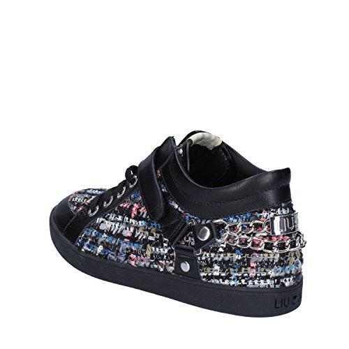 EU Leather Sneakers Womens Jo Liu Fashion Black 40 Wqgv7xw