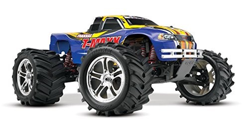 Traxxas T-Maxx Classic: 1 10-Scale Nitro-Powered 4WD Monster Truck with TQ 2.4GHz radio - Blue