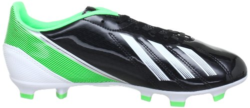 adidas F10 Trx Fg - Botas de Fútbol de material sintético Hombre Black 001 / Running White Ftw / Green Zest 013