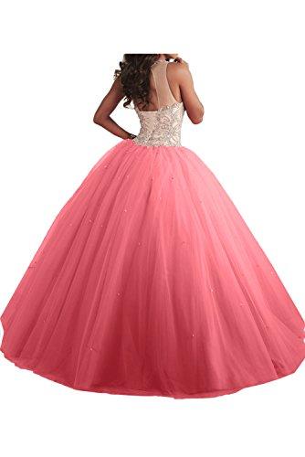 Promkleid Blau Abendkleider Ballkleider Festkleid Lang Duchesse Ivydressing Damen Linie Hochwertig x0O4PFqw