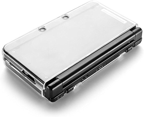 TNP New 3DS Case - Ultra Clear Crystal Transparent Hard Shell Protective Case Cover Skin for New 2015 Nintendo 3DS - [New Modified Hinge-less Design]