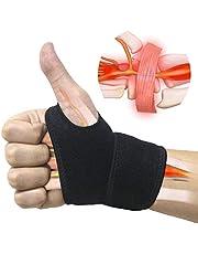 1 paar Verstelbare polssteun Ademende polsband voor fitness, bankdrukken, gewichtheffen biedt handondersteuning Een maat die geschikt is voor links of rechts