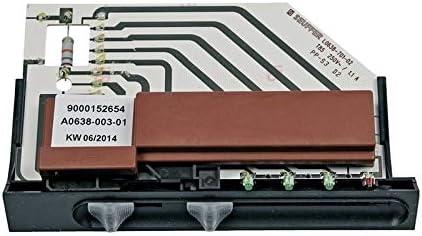Interruptor deslizante para campana extractora Bosch Siemens Neff 498638 00498638: Amazon.es: Grandes electrodomésticos