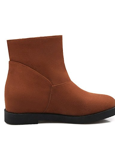 Sintético Marrón Beige us9 5 brown uk7 Zapatos Ante 5 brown XZZ cn42 5 Plataforma Redonda de us9 8 Botines Botas uk7 cn35 eu41 eu41 10 8 uk3 5 5 Punta Negro eu36 5 Vestido us5 mujer cn 10 black vCOw7xZq