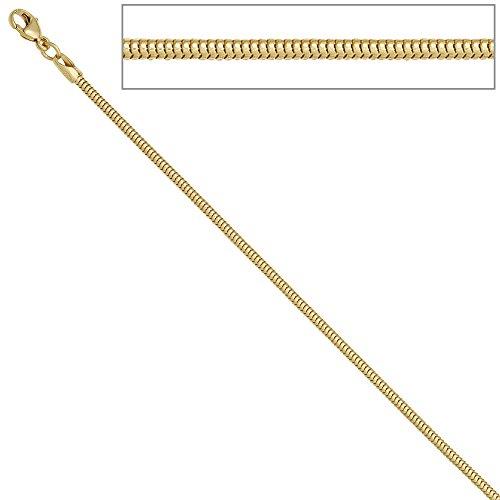 Jobo Chaîne Collier Or Chaîne Serpent en or jaune 5851,9mm 45cm