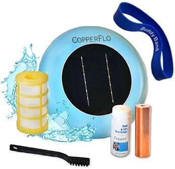 side facing copperflo solar pool ionizer
