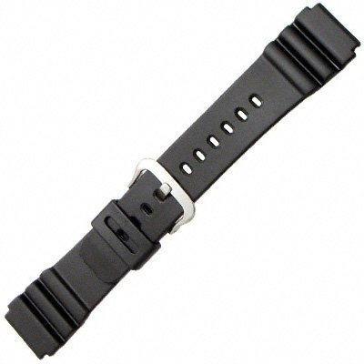 Casio 70368314 Genuine Factory Replacement Resin Watch Band fits AMW-320C-1E AMW-320C-7E AMW-320C-9E AMW-320CX-7E AMW-320D-1B AMW-320D-1E AMW-320D-7B AMW-320D-9E