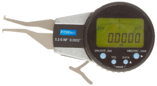 Fowler 54-554-611 Internal Electronic Caliper Gage, 0.200-0.590
