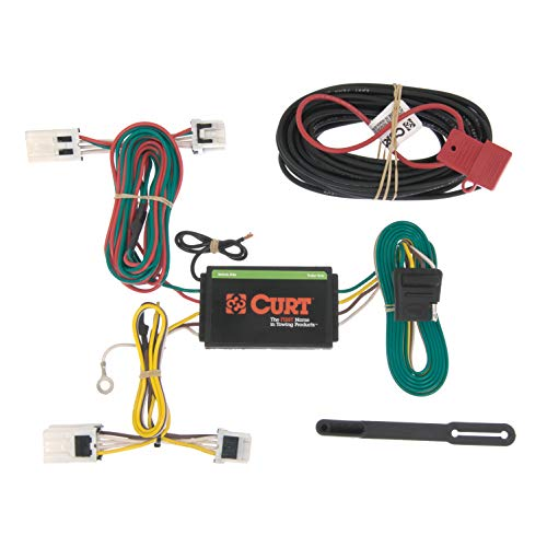 CURT 56148 Vehicle-Side Custom 4-Pin Trailer Wiring Harness for Select Nissan NV ()