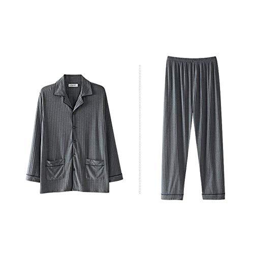 Smanicato Seta Confortevole Taglie Uomo Fashion Comode Accappatoio Notte Hx Amanti Camicia Di Grey Sexy Da Abiti RxwY0tnv