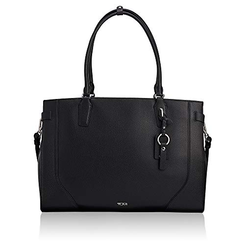 - TUMI - Stanton Rosalind Leather Laptop Tote - 15 Inch Computer Bag for Women - Black