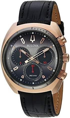 Bulova Men s Curv Watch Quartz Sapphire Crystal 98A156