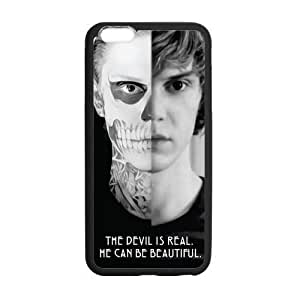 Custom Evan Peters Phone Case Laser Technology for iPhone 6 Plus Designed by HnW Accessories