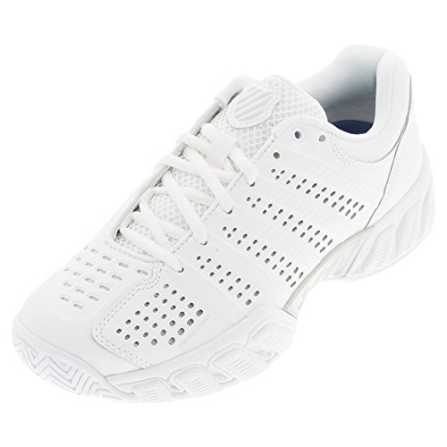 K-Swiss Bigshot Light 2.5 Zapatillas, Mujer White/White Synthetic Leather