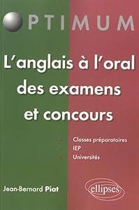 """Afficher """"L'anglais à l'oral des examens et concours"""""""