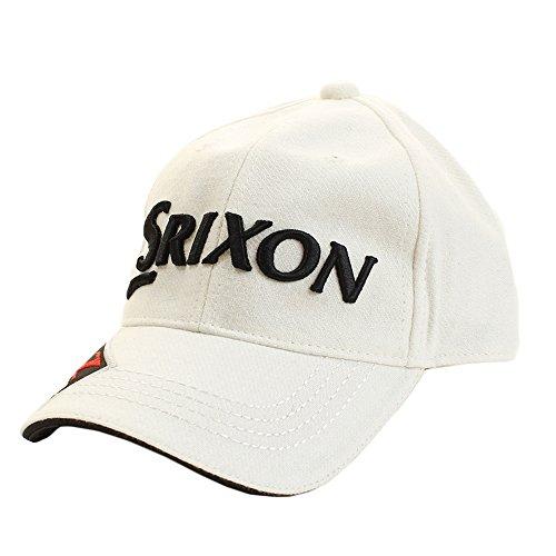 スリクソン ゴルフ キャップ ウールキャップ SMH7160X ホワイト F