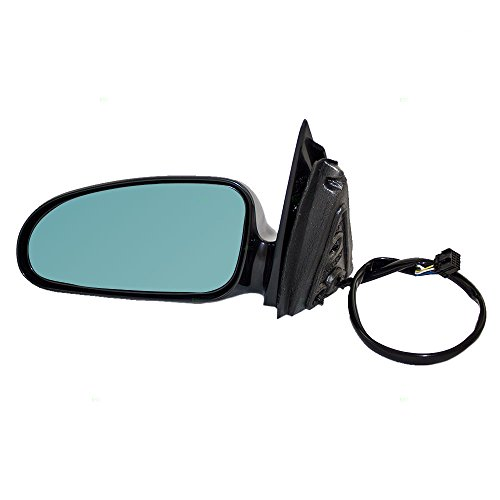 Pontiac Bonneville Power Heated Mirror (Drivers Power Side View Mirror Heated Memory Blue Tinted Glass Replacement for Pontiac Bonneville 25736307)