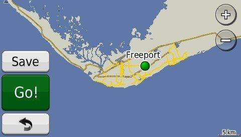 Bahamas GPS Map on SD Card (Garmin Compatible) ()