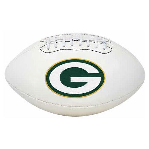 Green Bay Packers Signature Football - NFL Signature Series Full Regulation-Size Football