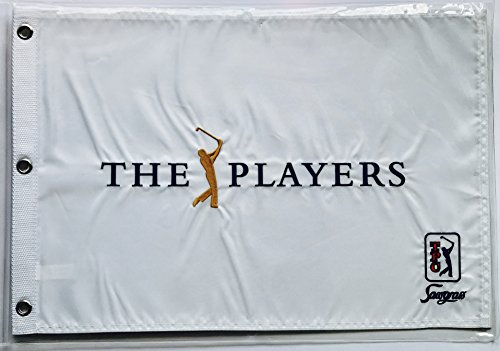 the Players golf flag players championship tpc sawgrass pin flag