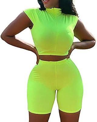GridNN Blouse Set-Women Sleeveless 2 Piece Set Short Pants Casual Outfit Sportswear