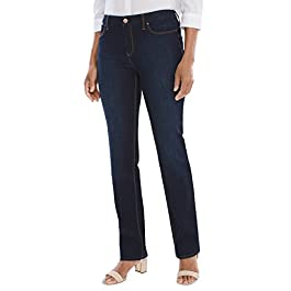 Chico's Women's So Slimming Girlfriend Ankle Jeans