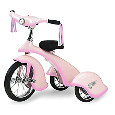 Morgan Cycle Pink Fairy Retro Tricycle: Toys & Games