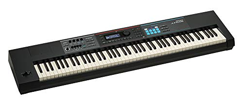 Roland JUNO-DS88 Synthesizer with Headphones, Piano-Style Sustain Pedal and Flash Drive