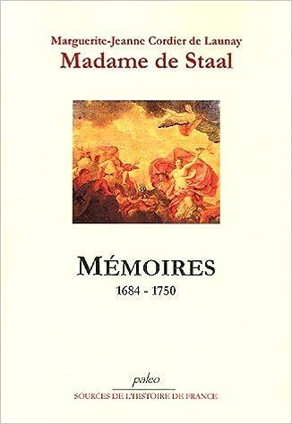En ligne téléchargement gratuit Mémoires (1684-1750) pdf ebook