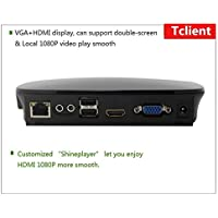 ARM A9 Quad Core 1.6GHz Linux thin client pc station network terminal computer Cloud PC with RAM 1G,FLASH 8G,USB VGA HDMI,RDP7.1,Embedded linux 3.0 OS
