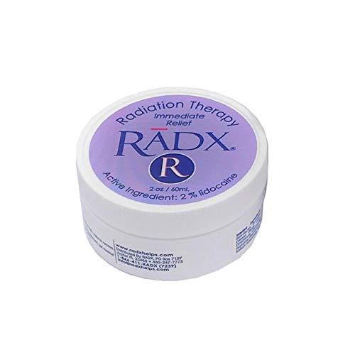 Radx - Oncology Therapy Cream - Burn Relief, Chemo and Radiation Skin Care - 2oz Jar